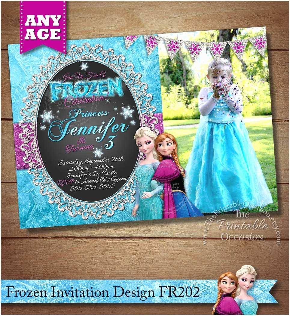 Frozen Birthday Invitation Frozen Birthday Invitation Frozen Birthday Party Frozen