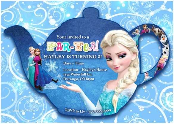 Frozen Birthday Invitation Frozen Birthday Invitation Template