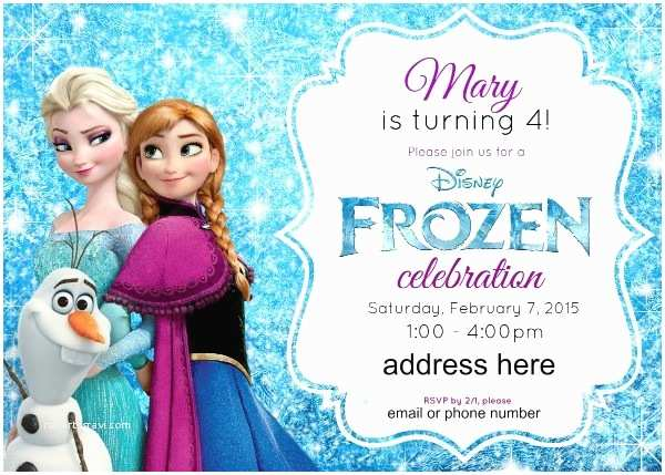 Frozen Birthday Invitations Disney S Frozen Birthday Party Ideas Pink Purple Blue