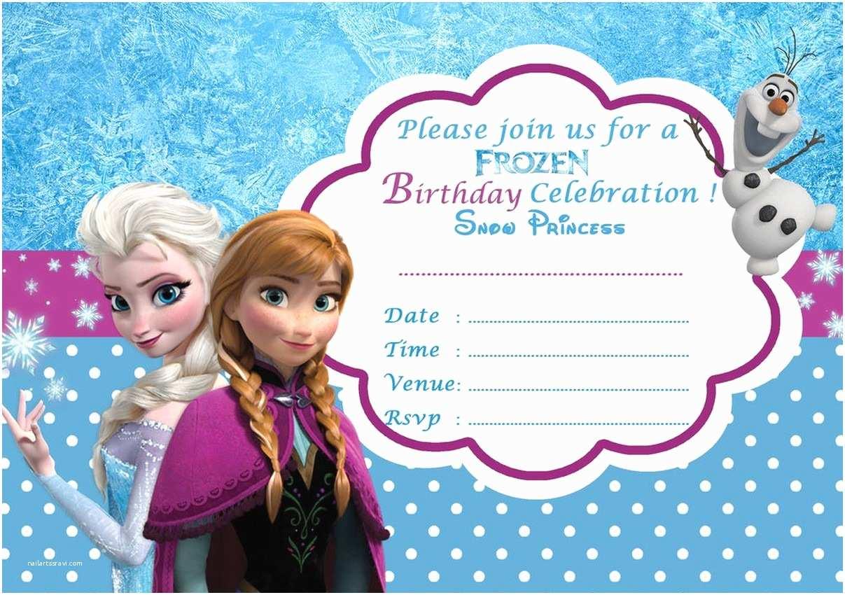 Frozen Birthday Invitations Frozen Free Printable Invitation Templates