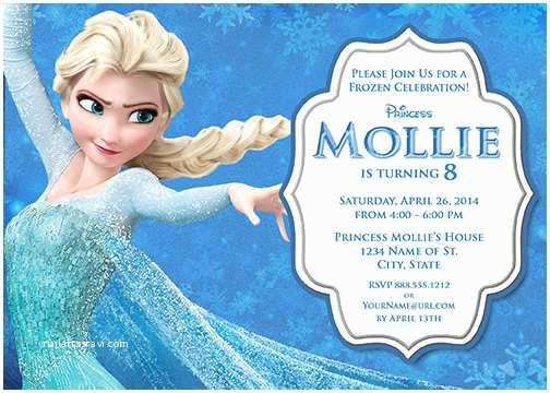 Frozen Birthday Party Invitations Elsa Frozen Birthday Party Invitation Ideas – Bagvania