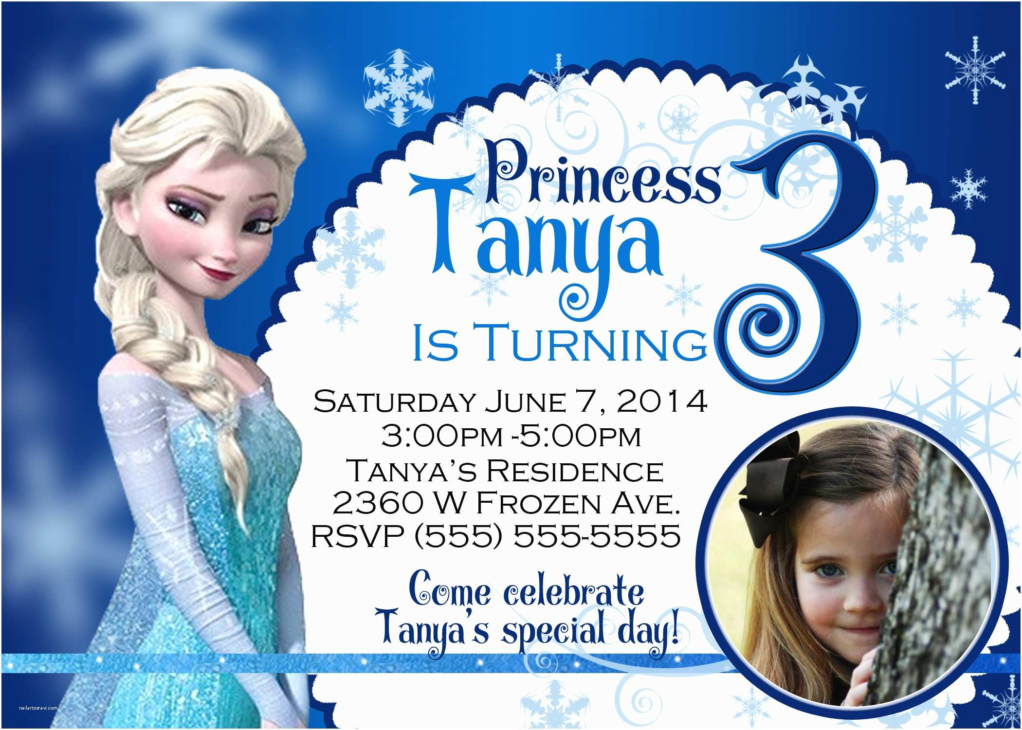 Frozen Birthday Party Invitations Feedback