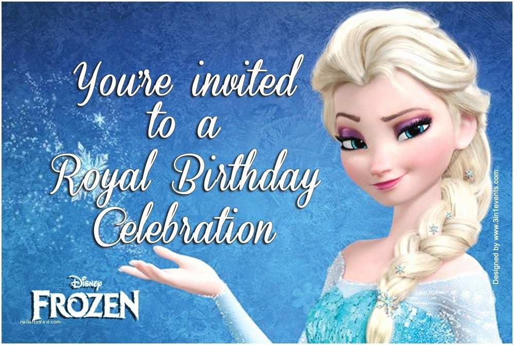 Frozen Birthday Party Invitations Frozen Party Invitations Free