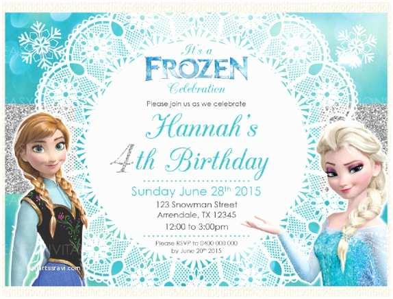 Frozen Party Invitations 14 Frozen Birthday Invitation – Free Psd Ai Vector Eps