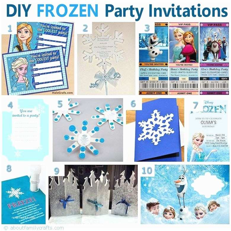 Frozen Party Invitations Frozen Birthday Invitations On Pinterest