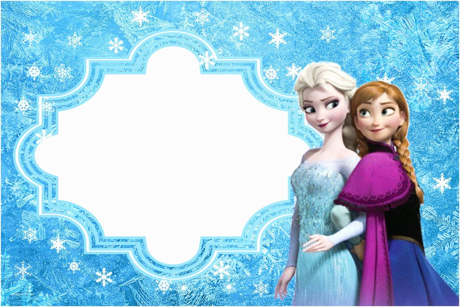 Frozen Party Invitations Frozen Free Printable Cards or Party Invitations