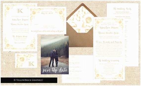 Full Wedding Invitation Sets Items Similar to Plete Wedding Invitation Set Golden