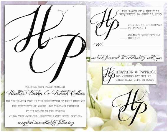 Full Wedding Invitation Sets Plete Wedding Invitation Stamp Set Including by