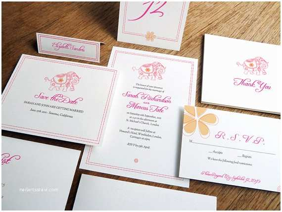 Full Wedding Invitation Sets Printable Plete Wedding Invitation Kit Mumbai by Empapers