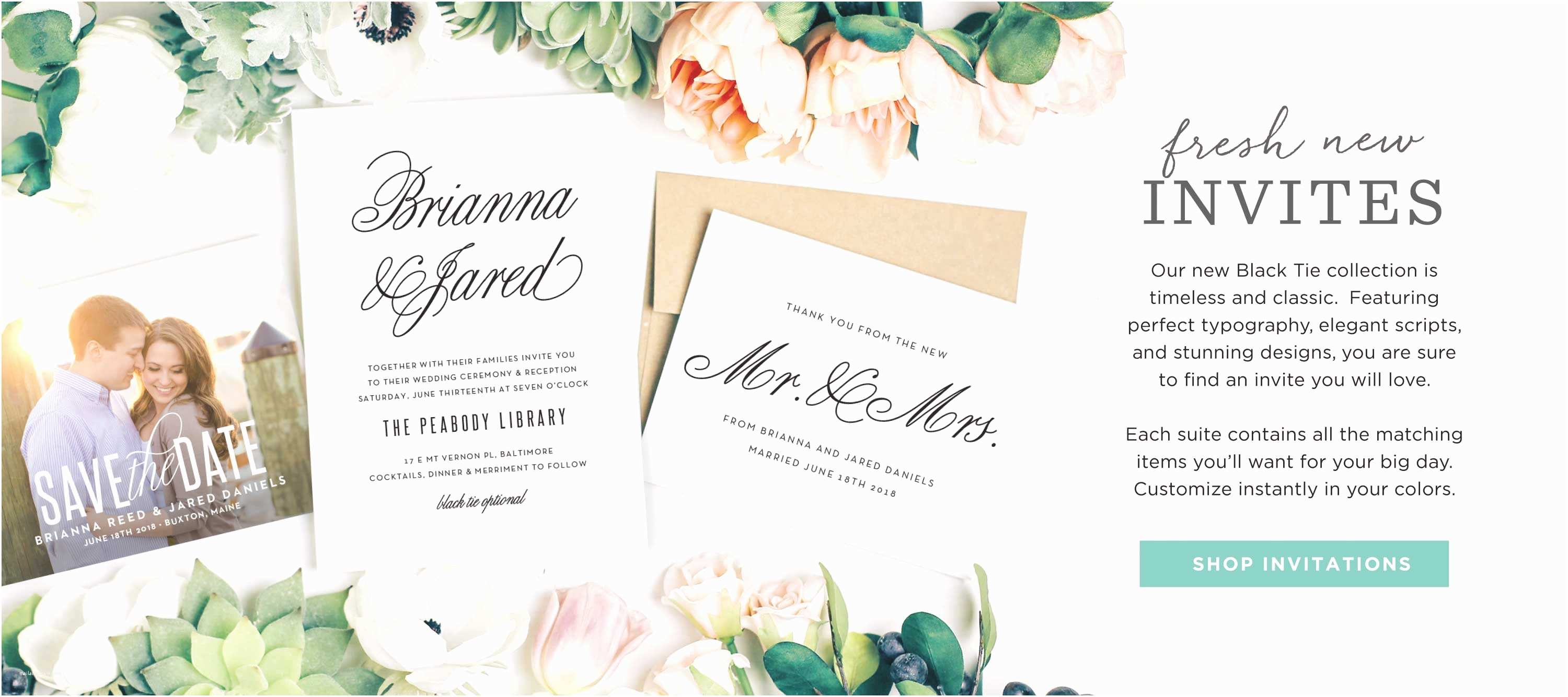 Fun Places to Send Wedding Invitations Invitations Announcements and Cards