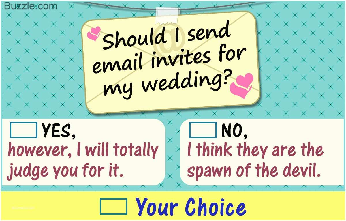 Fun Places To Send Wedding Invitations Is It Okay To Email Wedding Invitations Find Out