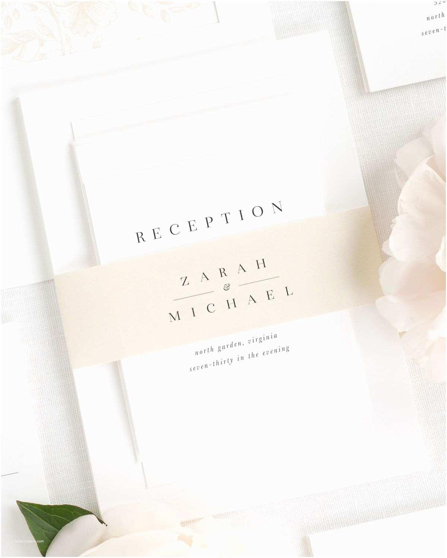 Fun Places to Send Wedding Invitations Zarah Wedding Invitations Wedding Invitations by Shine