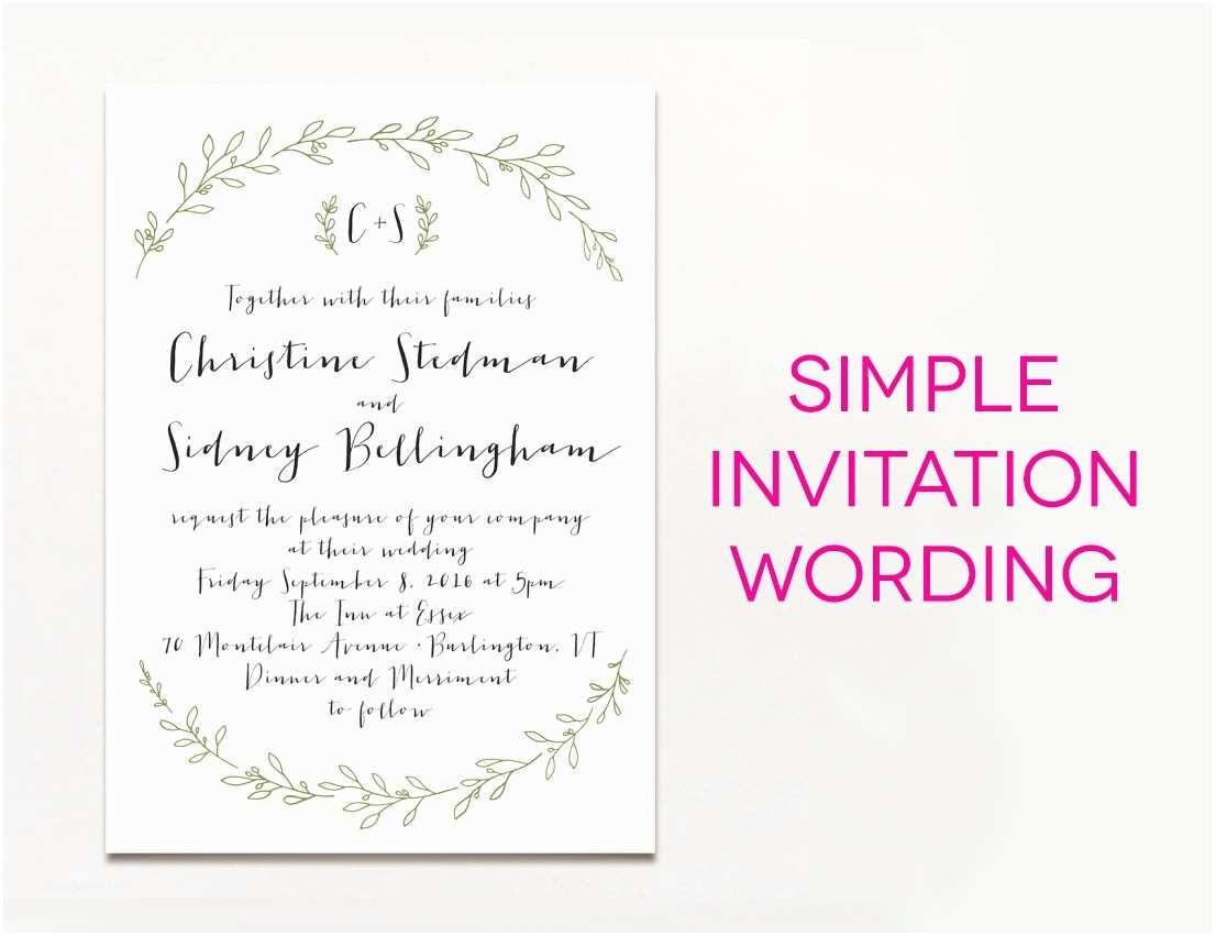 Fun Wedding Invitation Wording Tips Easy to Create Wedding Invites Wording Ideas with