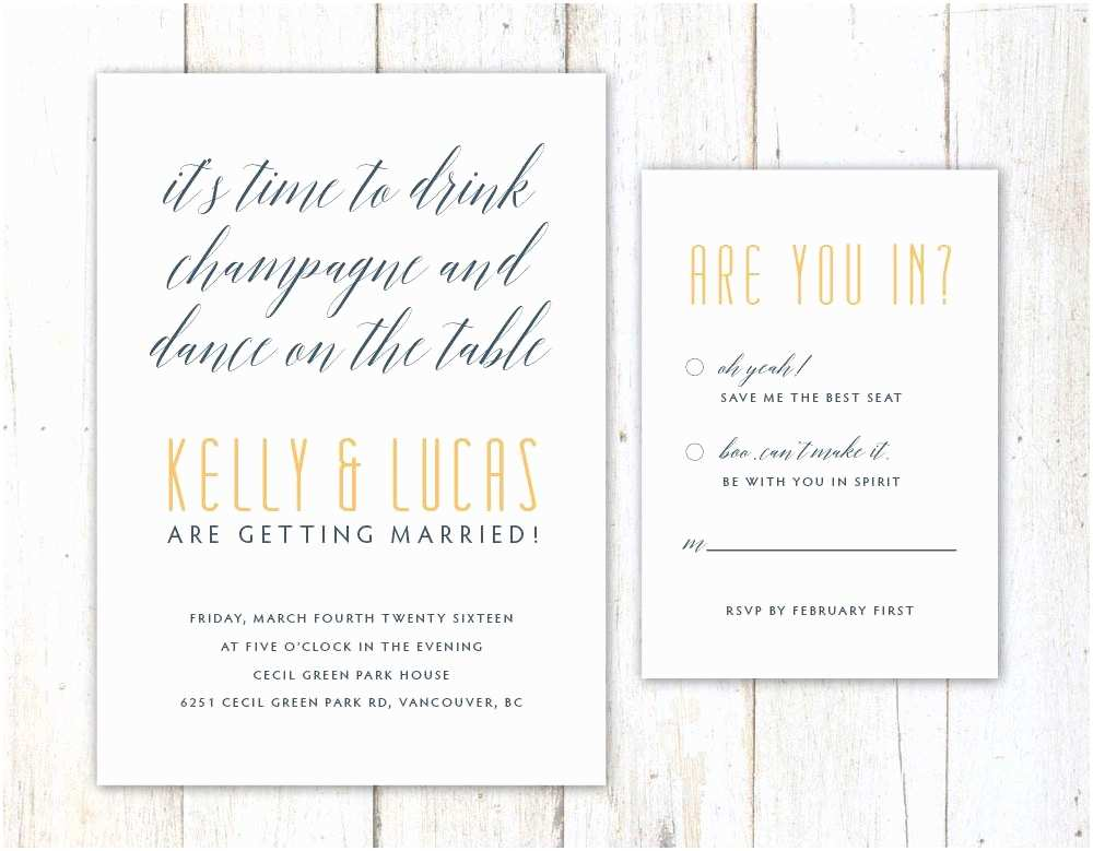 Fun Wedding Invitations Funny Wedding Invitation Wording