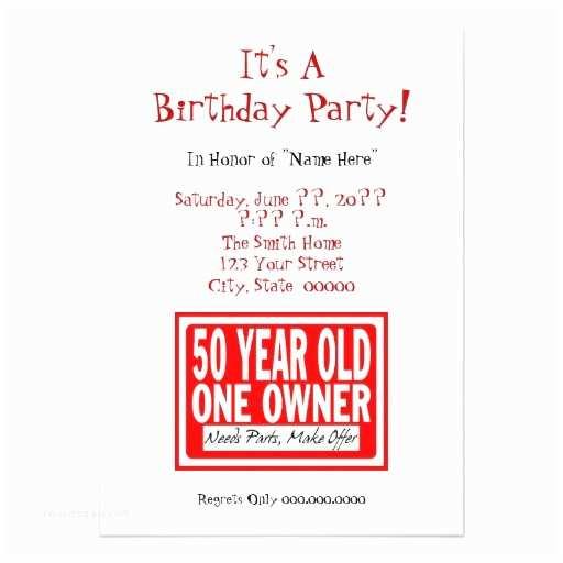 Funny Birthday Invitations Free Printable Funny 50th Birthday Party Invitations