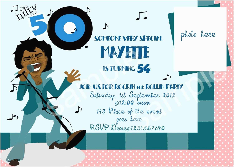 Funny Birthday Invitations 50th Party
