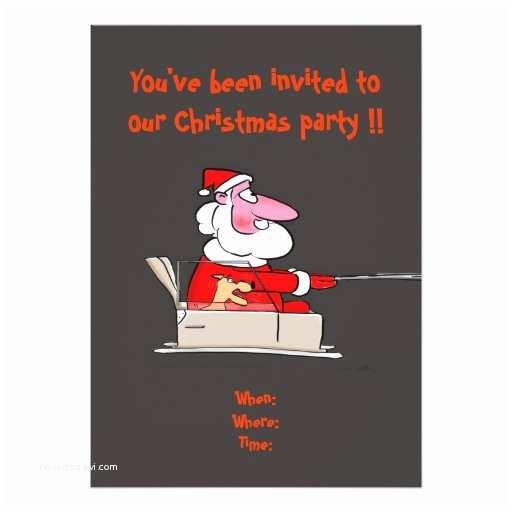 Funny Christmas Party Invitations Funny Christmas Party Invitation