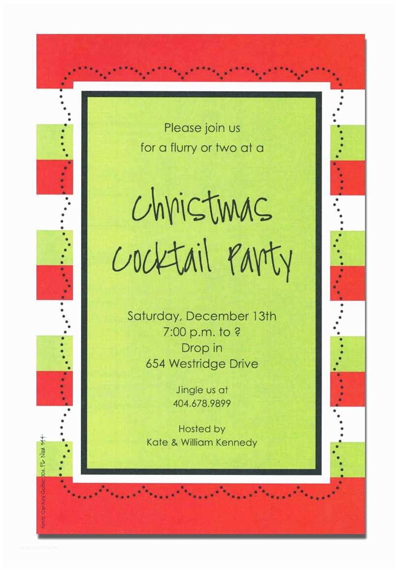 Holiday Party Invitations Christmas Party Invitation Wording