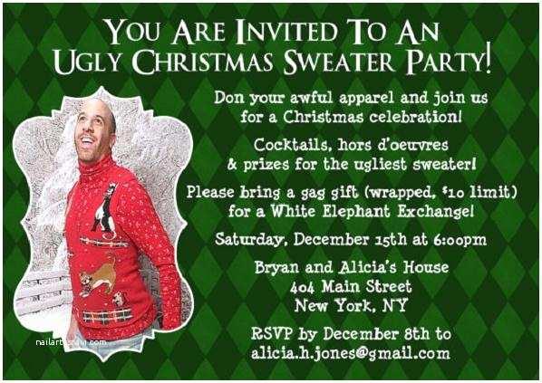 Funny Holiday Party Invitations Funny Christmas Invitation Wording Christmas Celebration