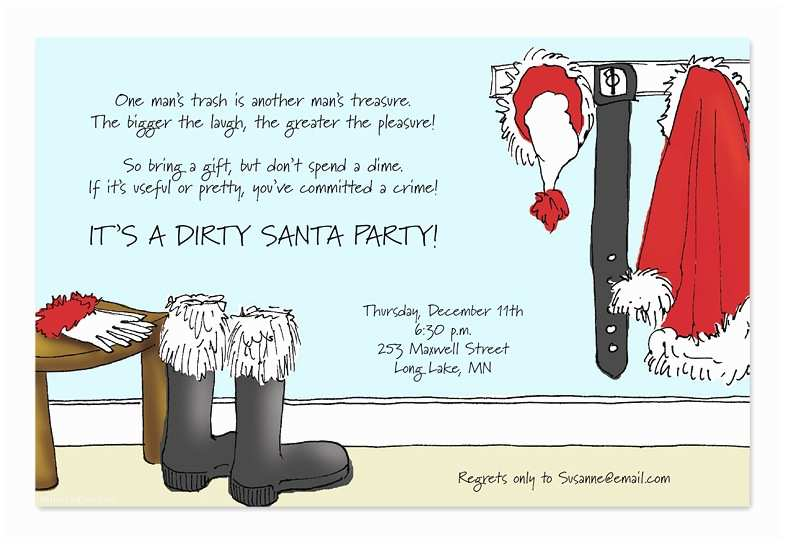 Funny Holiday Party Invitations Funny Christmas Party Invitation