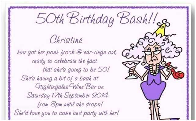 Funny Party Invitation Wording 60 Year Old Hot Girls Wallpaper
