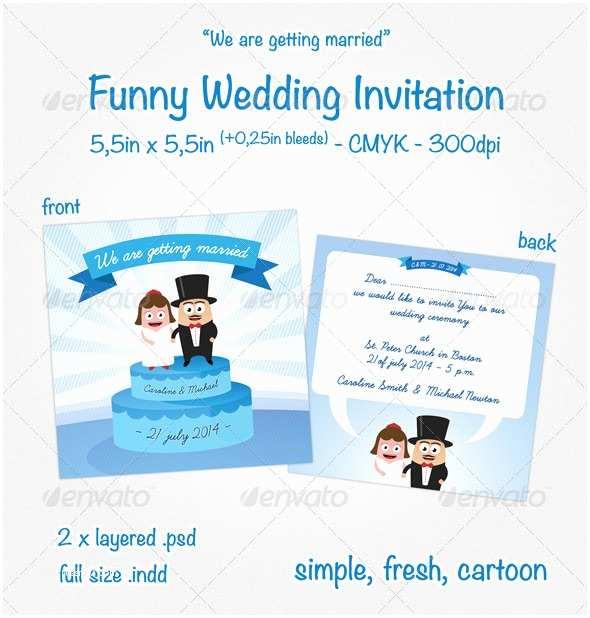 Funny Wedding Invitation Templates Free Funny Wedding Invitations – Gangcraft