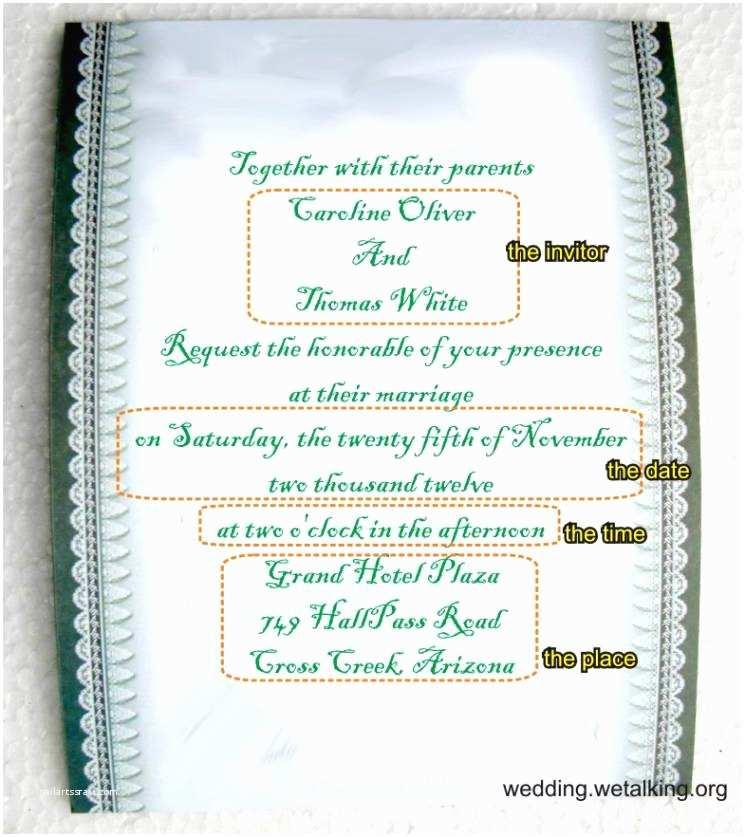 Funny Wedding Invitation Wording Funny Wedding Invitation Wording From Bride and Groom