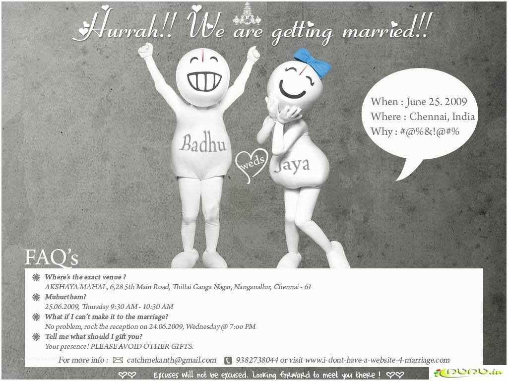 Funny Wedding Invitation Wording Funny Wedding  Humorous Wedding