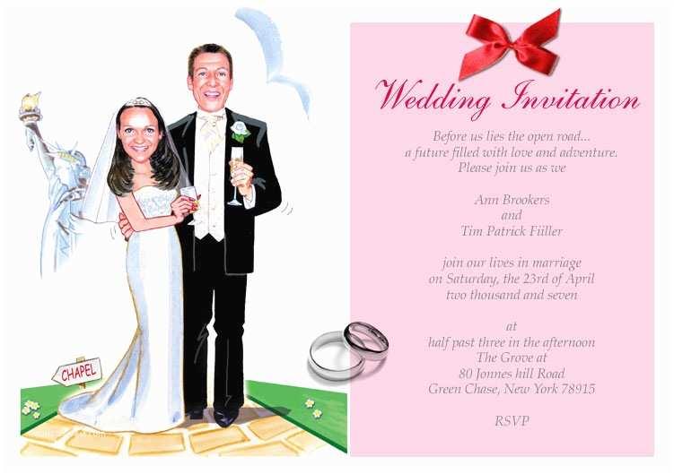 Funny Wedding Invitation Wording Funny Wedding Invitations Humorous Wedding Invitations