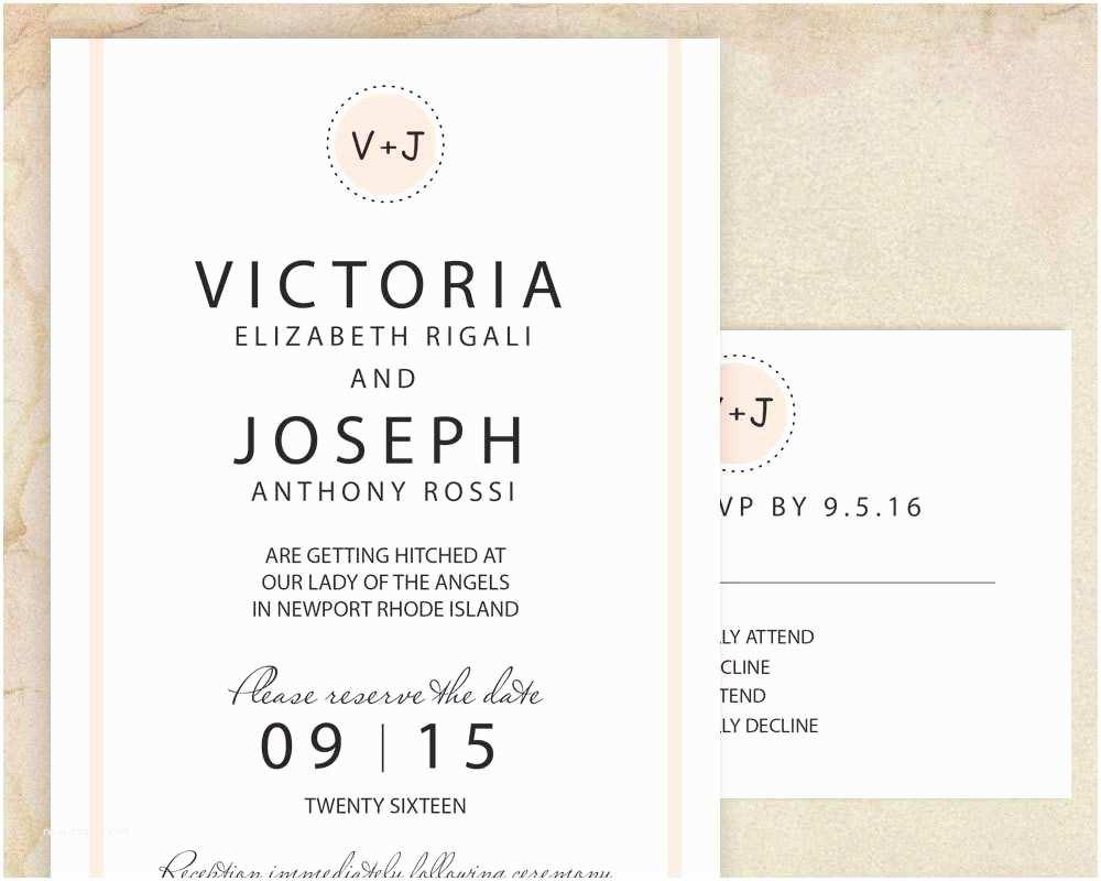 Funny Wedding Invitations Fun Engagement Invitation