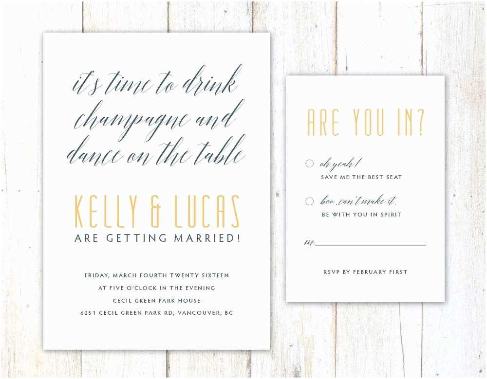 Funny Wedding Invitations Funny Wedding Invitation