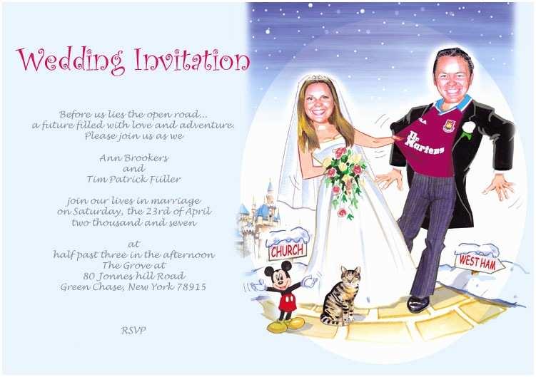 Funny Wedding Invitations Funny Wedding Invitations Humorous Wedding Invitations