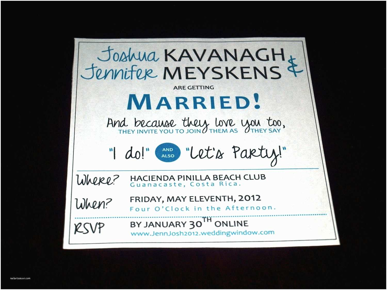 Funny Wedding Invitations Wording For Wedding Invitations — Criolla