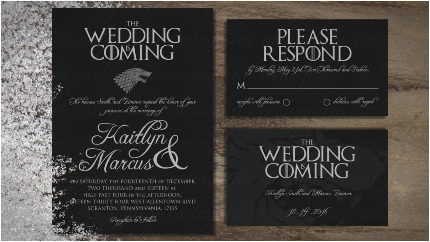 Game Of Thrones Party Invitation Game Of Thrones Printable Digital Wedding Invitations Invite