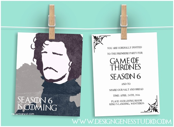 Game Of Thrones Party Invitation top 10 Game Of Thrones Party Planning Tips & Free