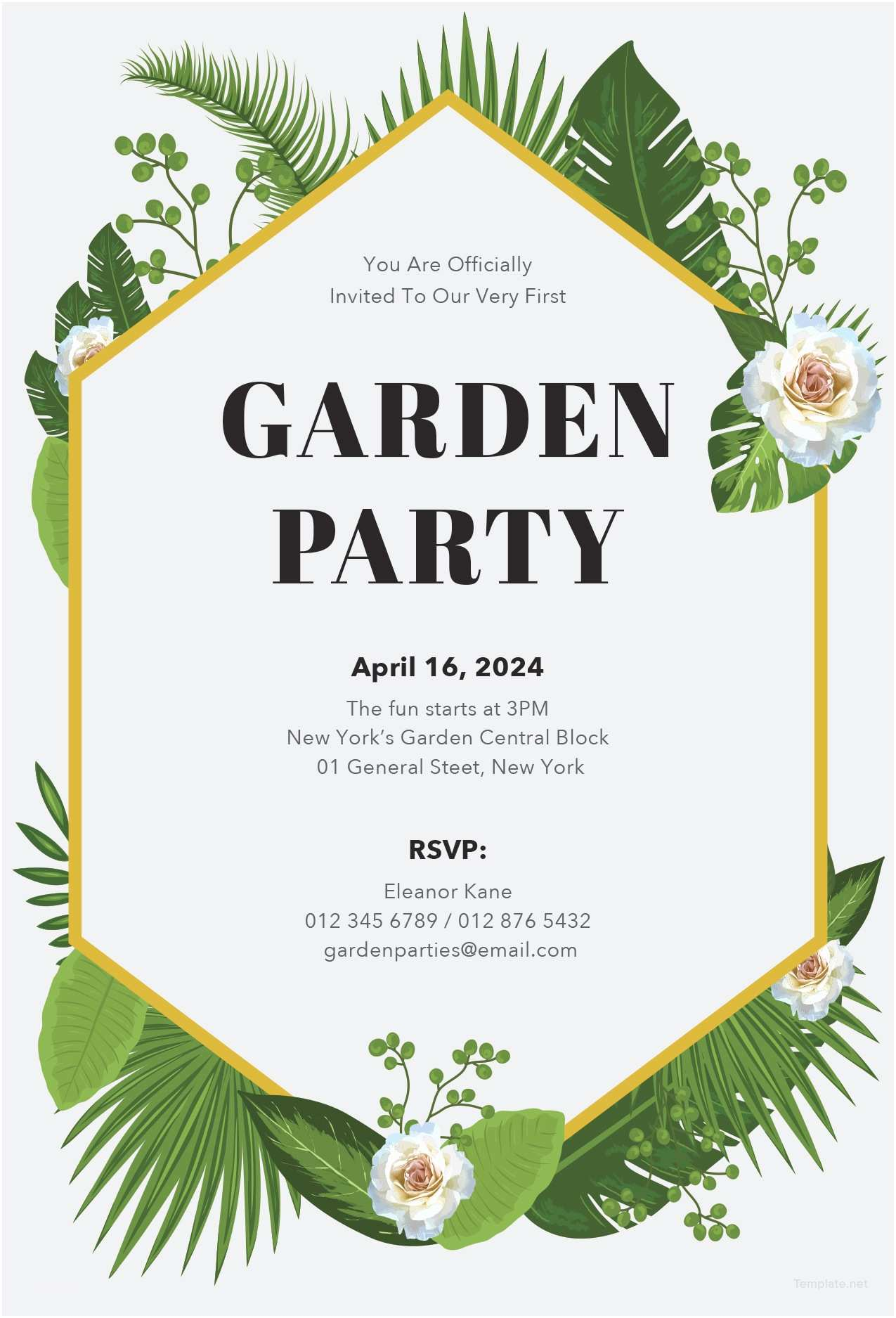 Garden Party Invitations Invitation Template Garden Party Image Collections