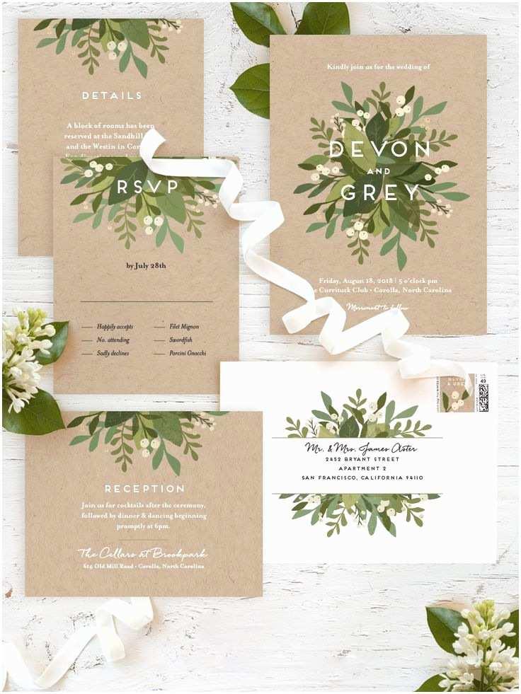 Garden Wedding Invitations 25 Best Ideas About Wedding Invitations On Pinterest