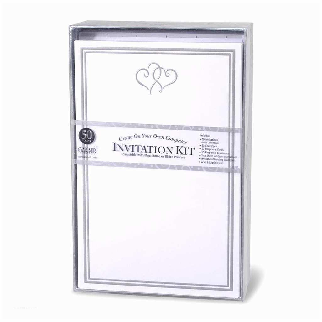Gartner Studios Wedding Invitations Gartner Studios Invitation Kit Platinum Heart