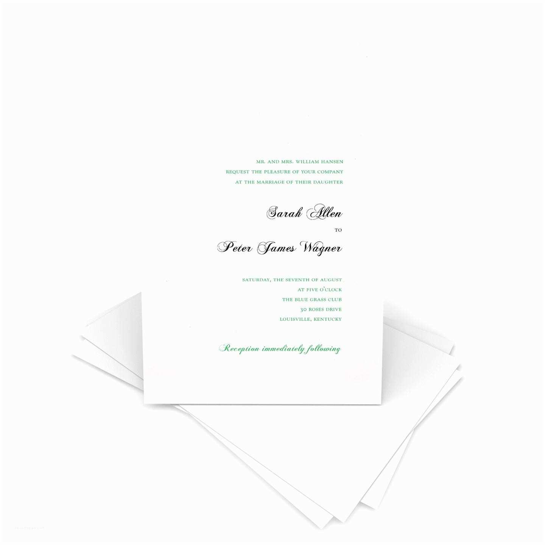 Gartner Wedding Invitations Printable Wedding Invitation Kit 5 5x8 5 Inch White