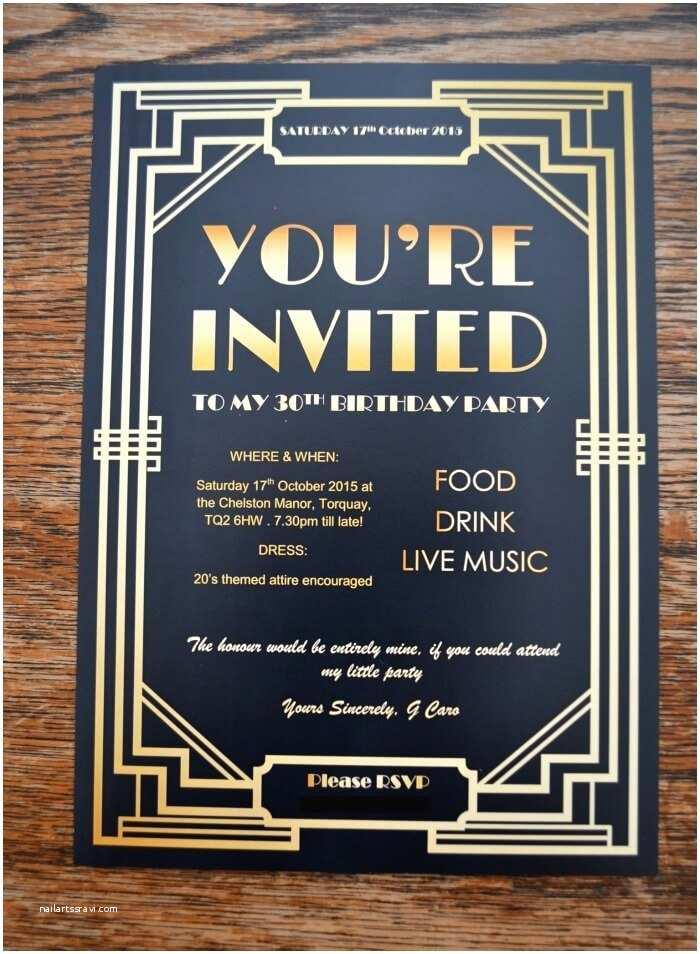 Gatsby Party Invitation Gatsby Party Invites Gypsy soul