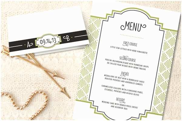 Gatsby Wedding Invitations $350 Giveaway Gatsby Wedding Invitations From Minted