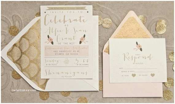 Gatsby Wedding Invitations 5 Creative Wedding Invitations to Inspire You This 2015