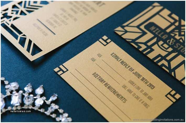 Gatsby Wedding Invitations Classic Wedding Invitations Gatsby Invitations