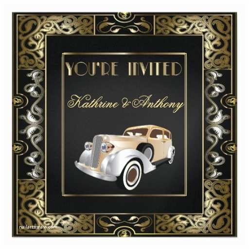 Gatsby Wedding  Personalized Roaring 20s