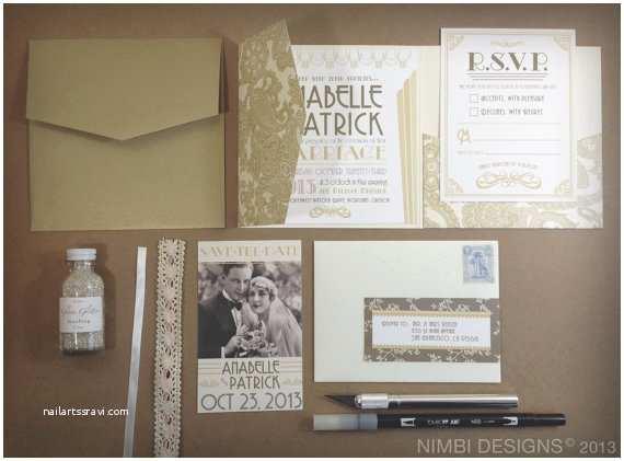 Gatsby Wedding Invitations the Great Gatsby Wedding Inspiration