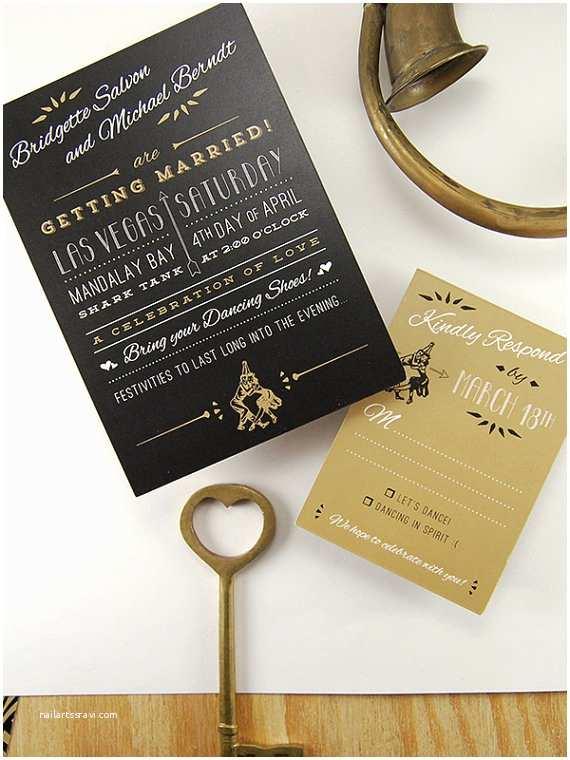 Gatsby Wedding Invitations The Great Gatsby Wedding