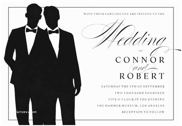 Gay Wedding Invitations Gay Wedding Invitation 16 Psd Jpg format Download
