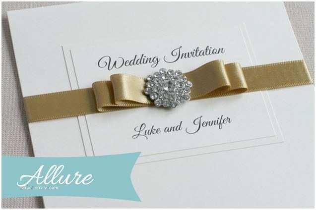 Gems Wedding Invitations Allure Wedding Invitation From Little Gems Weddings