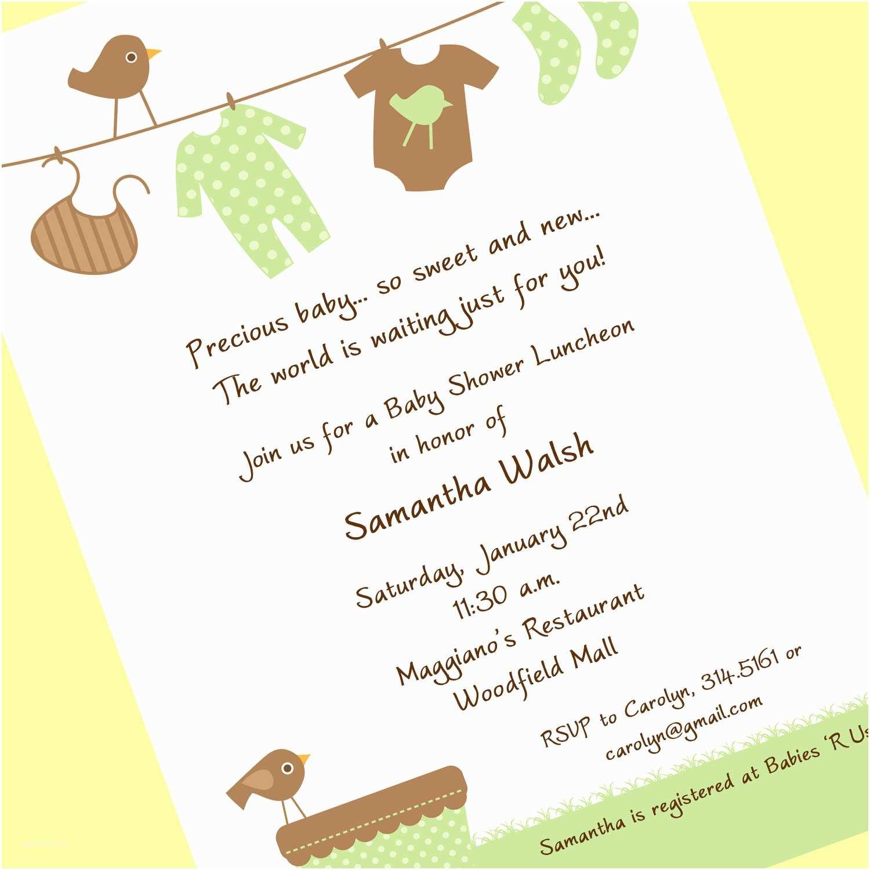 Gender Neutral Baby Shower Invitations Chandeliers & Pendant Lights