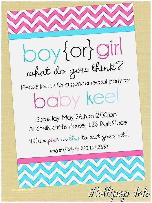 Gender Reveal Baby Shower Invitations Baby Shower Invitation Beautiful Baby Shower Invite Poems